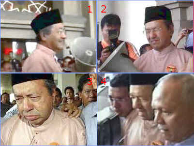 Tun Dr Mahathir Mohamad was attacked, upon 'instructions to stop him from speaking in Kota Bahru' 27 July 2006