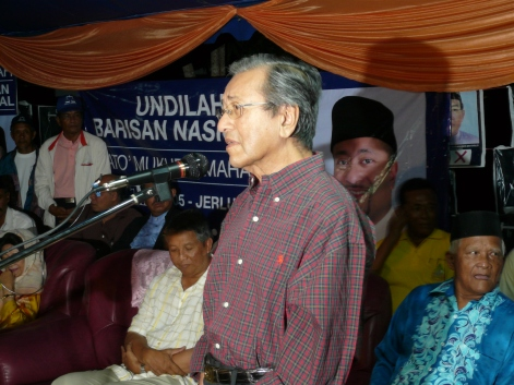 Image result for Sanusi Junid and Mahathir Mohamad