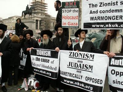 Joden hebben niks met Zionisme!