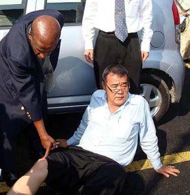 Wong arrested
