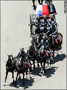 Pinochet funeral