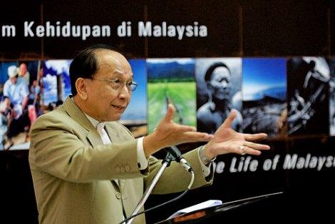 Minister-in-charge of Communications, Information & Culture Dato' Seri Utama Dr. Rais Yatim Ph.D