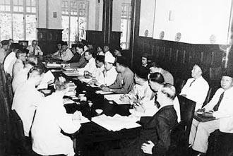 Perundingan antara Raja Raja Melayu, wakil UMNO dan Pesuruhjaya British di King's House 20 Nov 1946