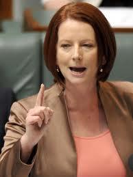 Australian Prime Minister Julia Gillard