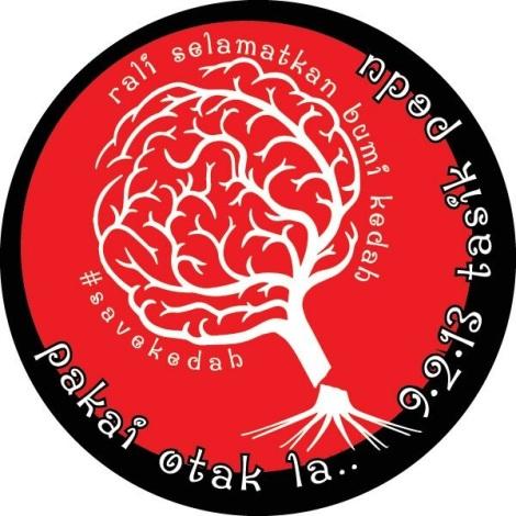 #Save  Kedah...pakai otak la