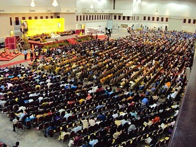 A typical PERKASA do, 10,000 attendees