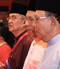 Tun Musa and Tun Abdullah