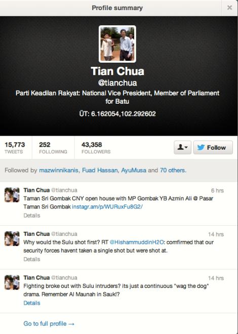 The unpatriotic Tian Chua