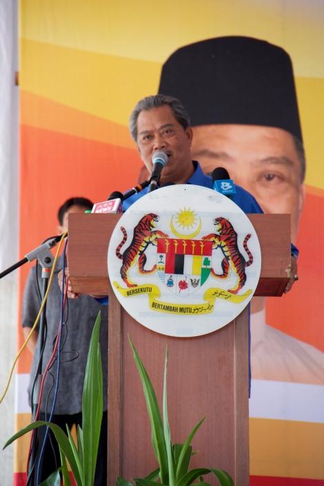 Timbalan Perdana Menteri Tan Sri Hj Muhyiddin Mohd. Yassin