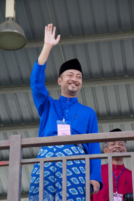 UMNO Kedah Liaison Chief Dato' Paduka Mukhriz Mahathir