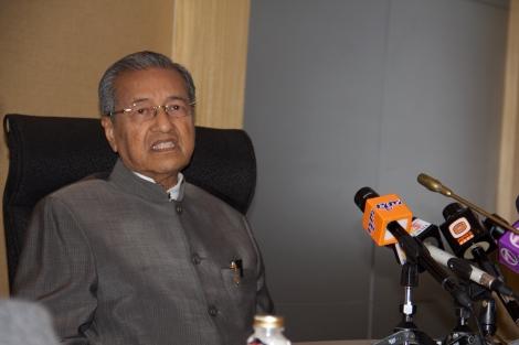Media conference at Yaysan Kepimpinan Pelajar, 7 May 2013