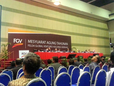 FGV first AGM 26 June 2013