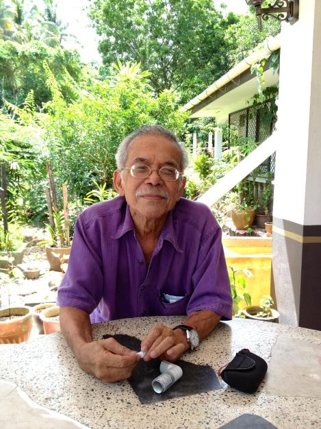 Ismail Yacob or Cikgu Man Pendek