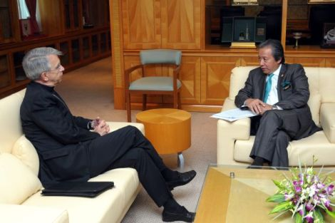 Apostolic Nuncio Archbishop Marino being summoned to meet Foreign Minister Anifah Aman