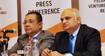 Tan Sri Isa Samad and Emir Mavani