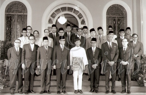 Second Prime Tun Abdul Razak's Cabinet. Tun Dr. Ismail then was the deputy Prime Minister and Home Minister