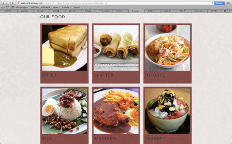The scrumptous typical everyday Malaysian favourites are featured in Gossip On Broadway