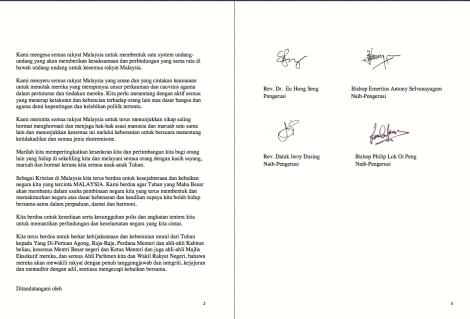 CFM Hari Kemerdekaan ke 56 message, pgs 2 & 3