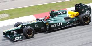Fernandes's racing team Caterham, acquired in 2012 to promote the 'AirAsia' brand as the replacement to the 'Lotus' brand that he could no longer use