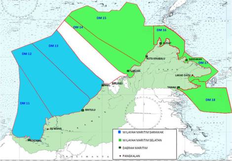 Malaysian Exclusive Economic Zone as per the Malaysia Act 1984 and under jusrisdiction of the MMEA