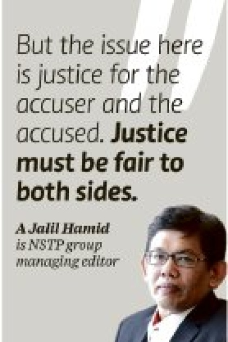 Was justice done to NST and news desk editor like Farrah Naz Karim?