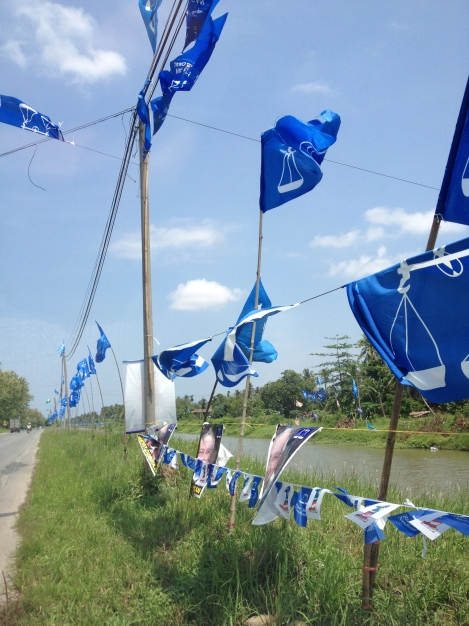 The BN Blue flying strong on the road to Sg Limau