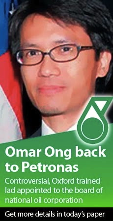 Omar Ong back in Petronas