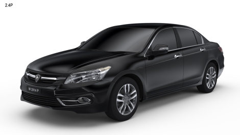 The Proton Perdana based on the 8th generation Honda Accord