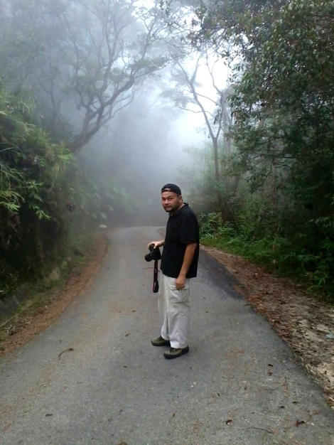 Syed Alfandi, on his way for a journey of eternity
