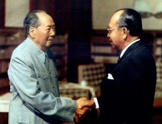 Malaysian Prime Minister Tun Hj Abdul Razak Hussein historic call on Chairman Mao Zedong