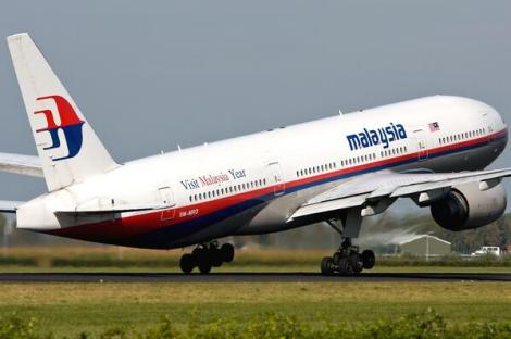 Malaysia Air;ines B777-200ER tail no. 9M-MRO designated MH370 gone missing on 8 March 2014 with 239 souls onboard