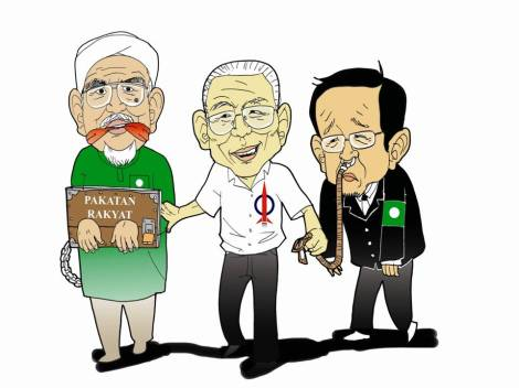 PAs has been playing into DAP's whims and fancies, but it is not actually working for them