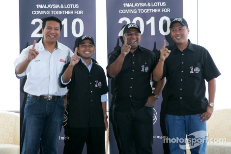 The flopped 1 Malaysia Racing Team with failed attempt to rope in the Lotus brand, launched in 2010