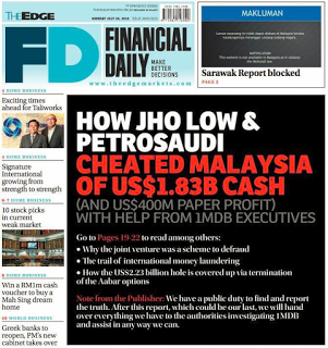 The Edge Financial Daily page