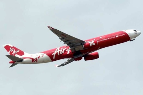AirAsia's plane is seen take off from KLIA2 during the AirAsia and AirAsia X new office ground breaking ceremony in Sepang. AZMAN GHANI / The Star