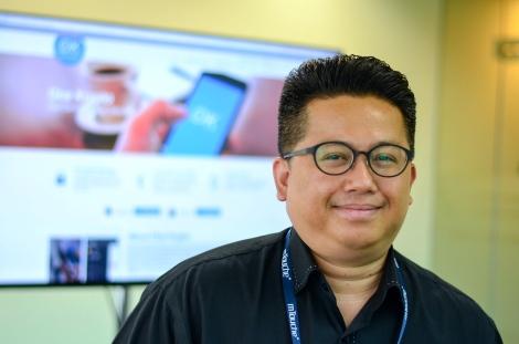 mTouche Technology Vice President of Business Development, Wan Azrain Adnan Pic: Mushamir Mustafa