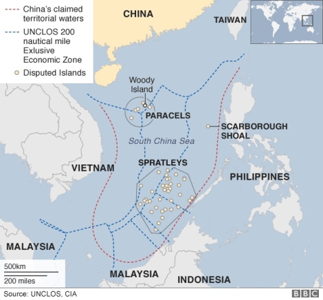 China's unsubstantiated claim of the 'Nine-Dash-Line'