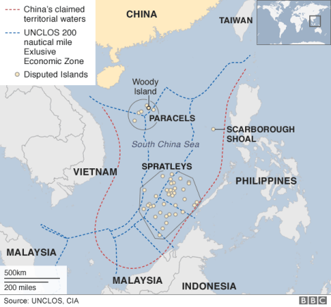 China's fictitious 'Nine-Dash-Line'