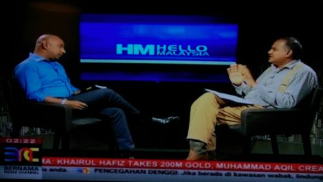 Syed Akbar Ali, also known as blogger Syed Outside The Box is Gerard Rajaratnam's guest on BNC 'Help Malaysia'