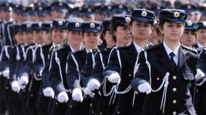 Ladies in Turkish Armed Forces, emancipated